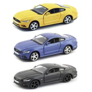 Машинка Uni-Fortune Ford Mustang 2015 матова 1:32 асортимент  (554029M)