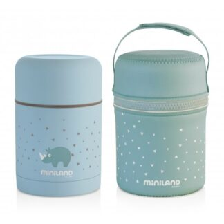 Термос харчовий SILKY FOOD THERMOS BLUE 600ML+ термосумка (89221)