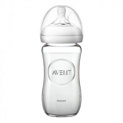 Пляшка Philips Avent Natural скляна 240 мл (3930812)